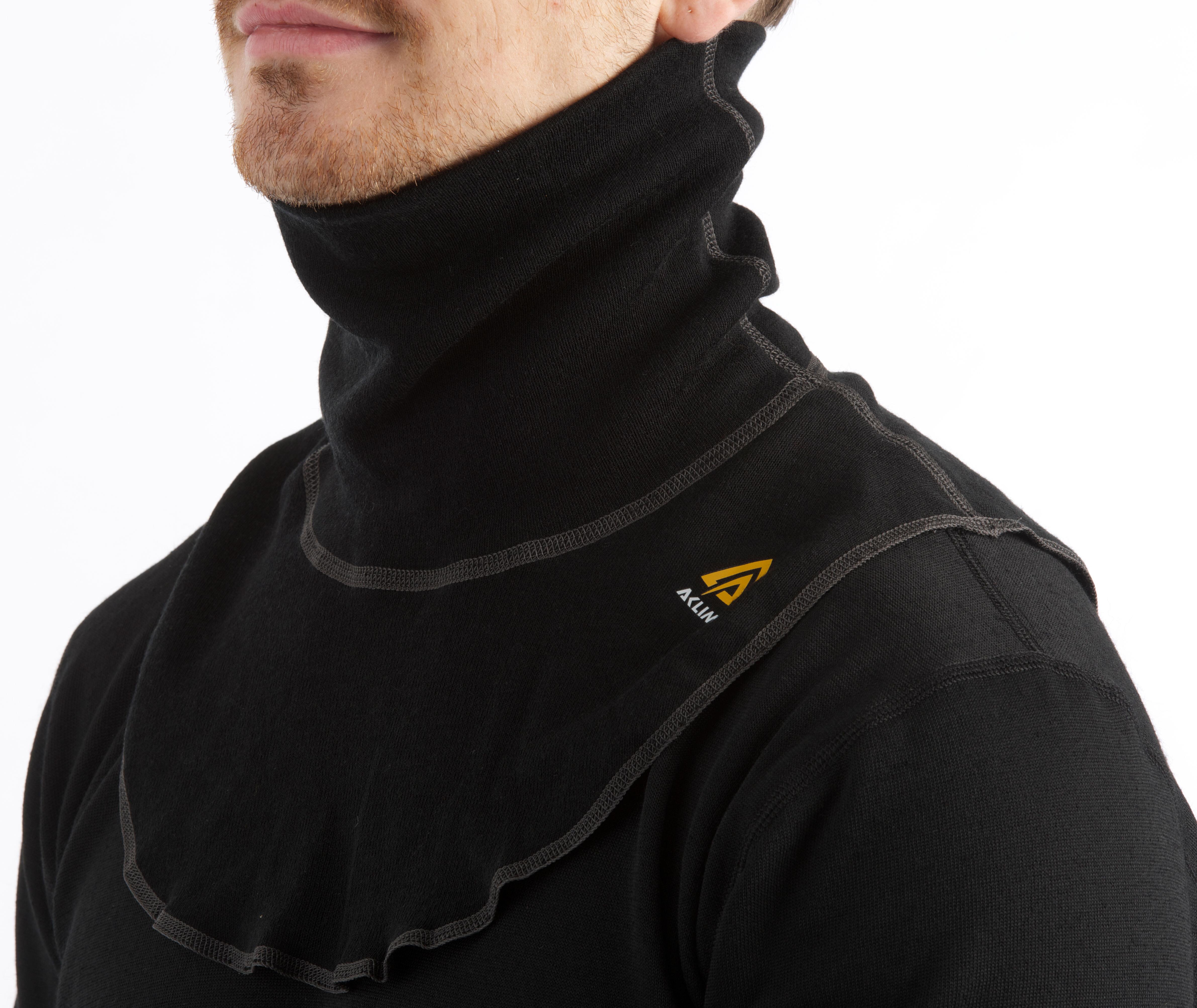 ed886c756033 Aclima WarmWool - Foulard - noir sur CAMPZ !